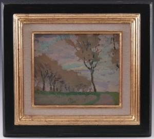 Walter-Kurau - Herbstliche Landschaft mit Bäumer 01