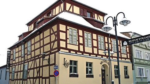 Kaffeemühle Museum in Wolgast