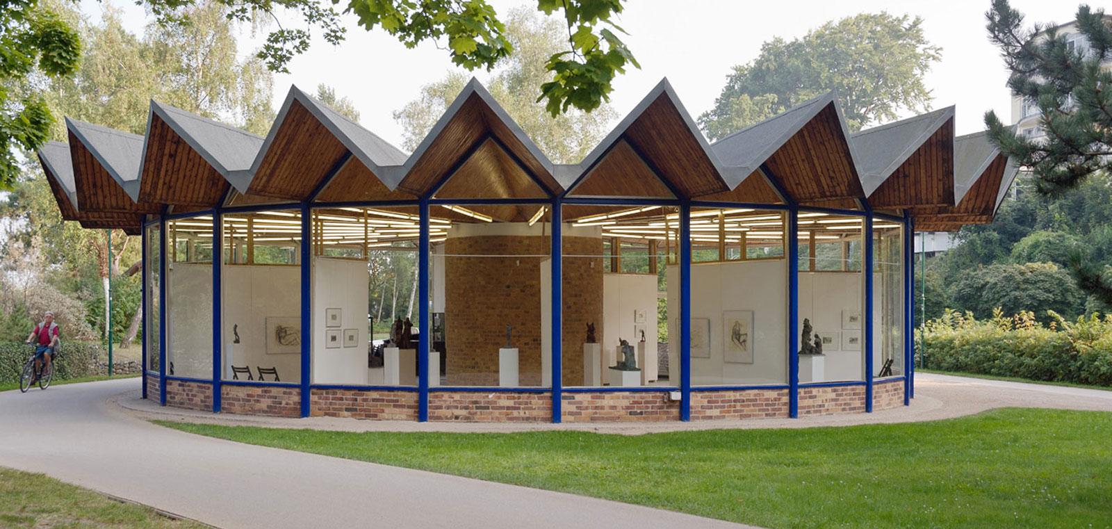 Kunstpavillon Heringsdorf aussen