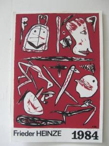 u aukt 2016 Frieder Heinze 1984 1984 Zinkografie  33 x 48 cm o.T.  o.R.