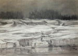 Sieger Zempiner Strand im Eis