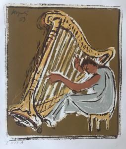 Vera Kopetz Harfespielerin